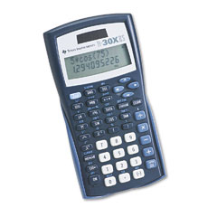 Texas instruments - ti-30x iis scientific calculator, 10-digit lcd, sold as 1 ea