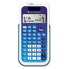 Texas instruments - ti-34 multiview scientific calculator, sold as 1 ea
