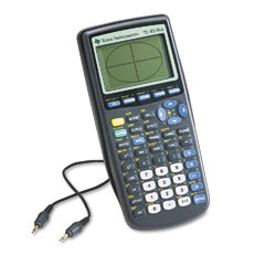 Texas instruments - ti-83plus programmable graphing calculator, 10-digit lcd, sold as 1 ea