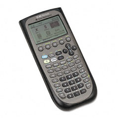 Texas instruments - ti-89 titanium programmable graphing calculator, pixel display, sold as 1 ea