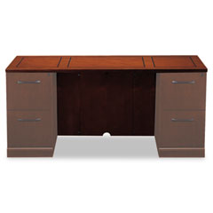 Mayline SCT72SCR Sorrento Series Veneer Credenza Top, 72W X 24D, Bourbon Cherry