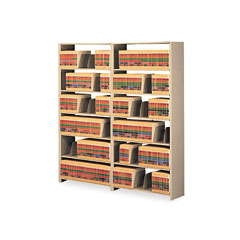 Tennsco 127648ACSD Snap-Together Open Shelving 6-Shelf Closed Add-On, Steel, 48W X 12D X 76H, Sand
