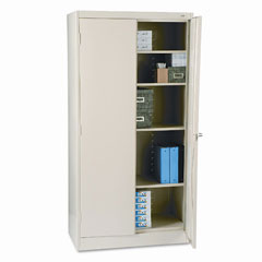 Tennsco - 72-inch high standard cabinet, 36w x 18d x 72h, putty, sold as 1 ea