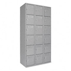 Tennsco BS6121812CMG Box Compartments, 36W X 18D X 72H, Medium Gray