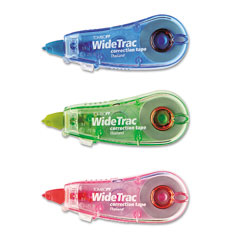 Tombow - widetrac correction tape, non-refillable, 1/3-inch x 236-inch, 3/pack, sold as 1 pk