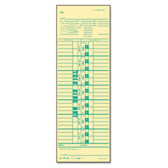 Tops - time card for cincinnati, simplex, weekly, 3-1/2 x 10-1/2, 500/box, sold as 1 bx