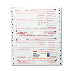 Tops - w-2 tax form, 4-part carbonless, 24 forms, sold as 1 pk