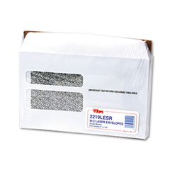Tops - double window tax form envelope/w-2 laser forms,9x5-5/8,50/pack, sold as 1 pk