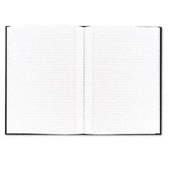 Tops - royale business casebound notebook, college rule, 8-1/4 x 11-3/4, 96-sheet, sold as 1 ea