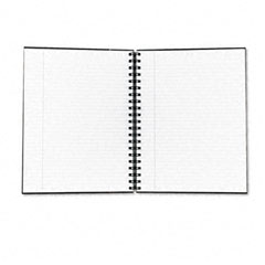 Tops 25331 Royale Business Hardcover Notebook, Legal Rule, 8 X 10-1/2, White, 96 Sheets