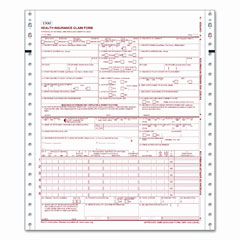 Tops 50124R Centers For Medicare And Medicaid Services Forms, Two-Part, 1500 Forms