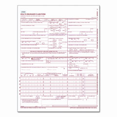 Tops 50126R Centers For Medicare And Medicaid Services Forms, 8-1/2 X 11, 500 Forms