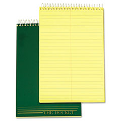 Tops 63851 Docket Steno Pad, Gregg Rule, 6 X 9, Canary, 100 Sheets/Pad