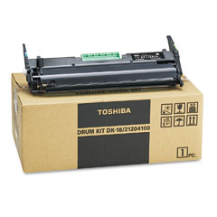 Toshiba DK18 Dk18 Drum, Black