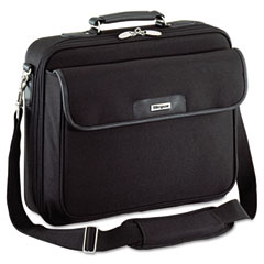 Targus - notepac laptop case, ballistic nylon, 15-3/4 x 5 x 14-1/2, black, sold as 1 ea