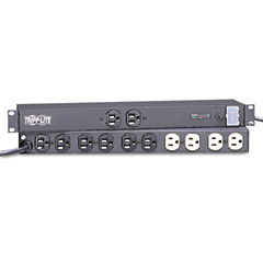 Tripp Lite ISOBAR12UL Isobar12Ultra Isobar Ultra Surge Suppressor 1U Rackmount, 12 Outlet, 3840 Joules
