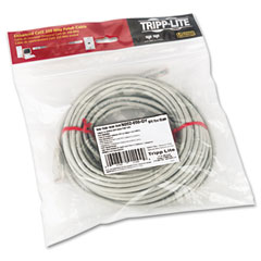 Tripp lite - cat5e molded patch cable, 50 ft., gray, sold as 1 ea