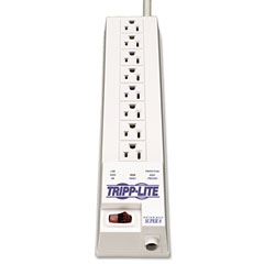 Tripp lite - sk6-6 protect it! surge suppressor 8 outlet 8ft cord 1260 joules, sold as 1 ea