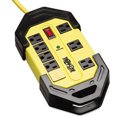 Tripp lite - tlm812sa safety surge suppressor, 8 outlet, osha, 12ft cord, 1500 joules, sold as 1 ea