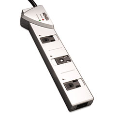 Tripp lite - tlp707tel surge suppressor, 7 outlet, rj11, 7ft cord, 1080 joules, sold as 1 ea