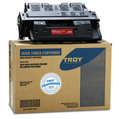 Troy 0281078001 0281078001 Compatible Micr High-Yield Toner Secure, 10,000 Page-Yield, Black
