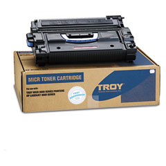 Troy - 0281081001 compatible micr high-yield toner secure, 35,000 page-yield, black, sold as 1 ea