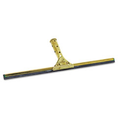 "Unger GS450 Golden Clip Brass Squeegee Complete, 18"" Wide"