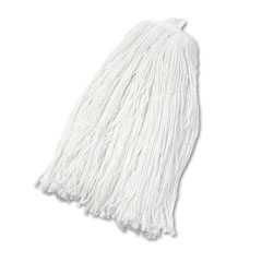 Unisan 2032R Cut-End Wet Mop Head, Rayon, #32 Size, White