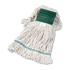 Unisan 502WH Super Loop Wet Mop Head, Cotton/Synthetic, Medium Size, White