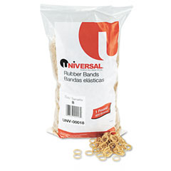 Universal 00018 Rubber Bands, Size 8, 7/8 X 1/16, 5000 Bands/1Lb Pack