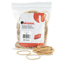 Universal 00416 Rubber Bands, Size 16, 2-1/2 X 1/16, 475 Bands/1/4Lb Pack