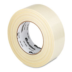 "Universal 16048 Premium-Grade Filament Tape W/Natural Rubber Adhesive, 2"" X 60 Yards"