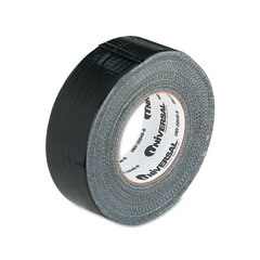 "Universal 20048B General Purpose Duct Tape, 2"" X 60 Yards, Black"