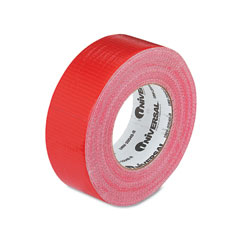 "Universal 20048R General Purpose Duct Tape, 2"" X 60 Yards, Red"