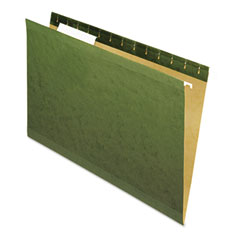 Universal - reinforced recycled hanging folder, 1/3 cut, legal, standard green, 25/box, sold as 1 bx