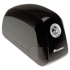 Universal 30000 Contemporary Design Electric Pencil Sharpener, Black