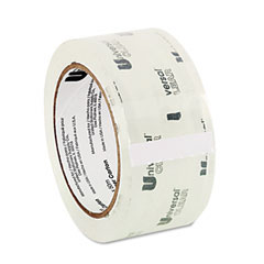 "Universal 31100 Heavy-Duty Box Sealing Tape, 2"" X 55 Yards, 3"" Core, Clear"