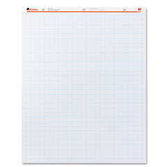 Universal - recycled easel pads, quadrille rule, 27 x 34, white, 50-sheet 2/ctn, sold as 1 ct