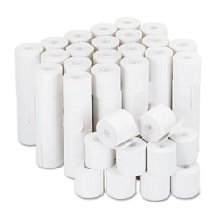 Universal - adding machine/calculator roll, 16 lb, 1/2-inch core, 2-1/4-inch x 126 ft,white, 100/ct, sold as 1 ct