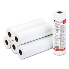 "Universal 35751 Economical Thermal Facsimile Paper, 1"" Core, 8-1/2"" X 164 Ft, 6/Carton"