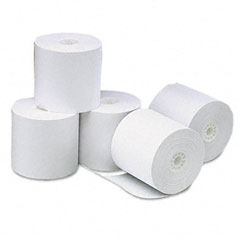 Universal - one-ply thermal paper roll, 3-1/8-inch x 273 ft, white, 50/carton, sold as 1 ct