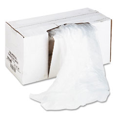 Universal - high-density shredder bags, 26w x 18d x 48h, 100 bags/carton, clear, sold as 1 ct