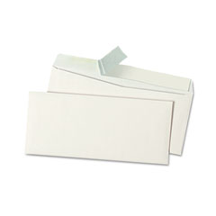 Universal - pull & seal business envelope, #10, white, 100/box, sold as 1 bx