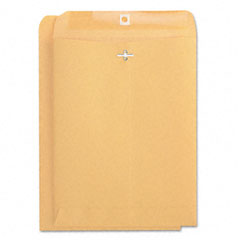 Universal 41907 Kraft Clasp Envelope, Side Seam, 32Lb, 9 X 12, Light Brown, 100/Box