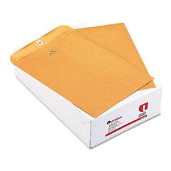 Universal 42907 Kraft Clasp Envelope, Side Seam, 32Lb, 9 1/2 X 12 1/2, Light Brown, 100/Box