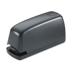 Universal - electric stapler with staple channel release button, 15-sheet capacity, black, sold as 1 ea