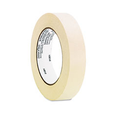 "Universal 51301 General Purpose Masking Tape, 1"" X 60 Yards, 3"" Core, 3/Pack"