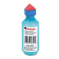 Universal - squeeze bottle moistener, 2 oz, blue, sold as 1 ea