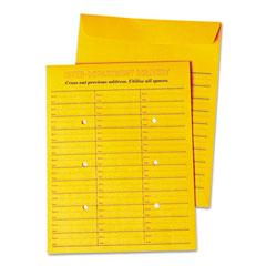 Universal 63570 Interoffice Re-Seal Envelope, 10 X 13, Brown, 100/Box