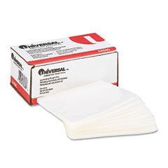 Universal - clear laminating pouches, 5 mil, 4-3/8 x 6-1/2, photo size, 100/box, sold as 1 bx